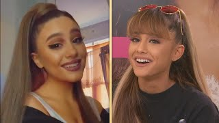 Ariana Grande REACTS to TikTok Look-Alike
