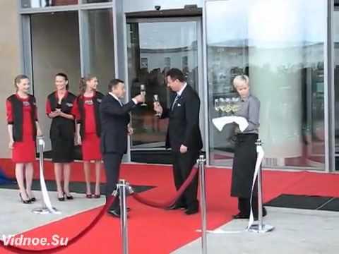 Открытие в Москве ТЦ ВЕГАС