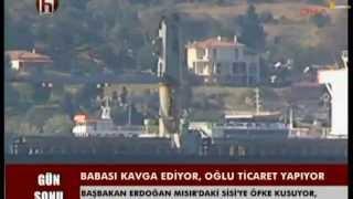 ''Burak Erdogan Suriye Misir ve israil  ile ticaret yapiyor''HalkTv,DHA,SozcuGazetesi Bora Erdin