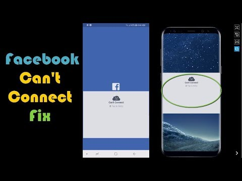 Can't connect Tap to retry Facebook Fix - BlogTechTips