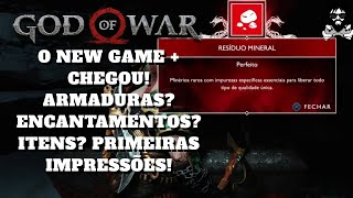 Saiu o New Game + do God of War e está show!