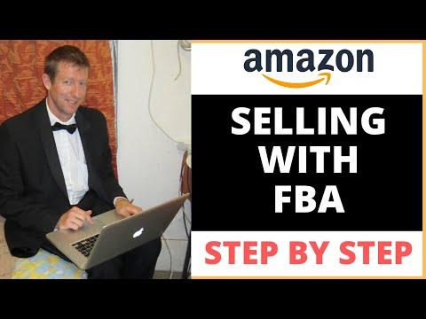 Amazon FBA - 5 Steps To Start Selling Tutorial thumbnail