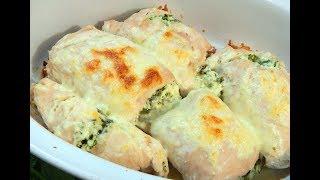 Худеем вкусно! Куриные рулетики с сыром.Рецепт правильного питания.