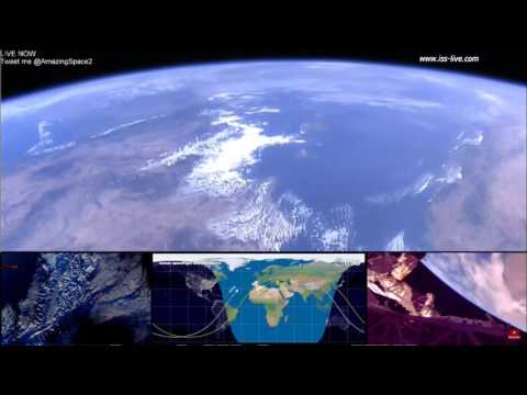 From Spain To Italy - Views From  NASA's ISS Live Feed - International Space Station