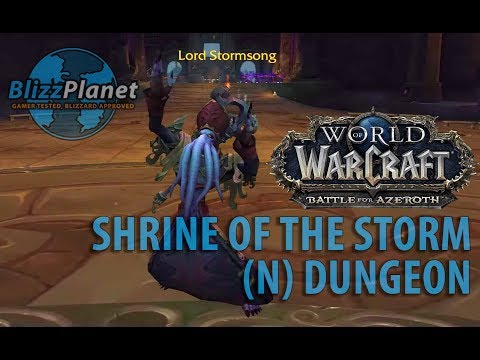Shrine of the Storm Dungeon (N)
