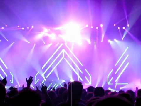Tiesto : Calvin Harris - I'm Not Alone (Tiesto Remix) @ Parken, Copenhagen