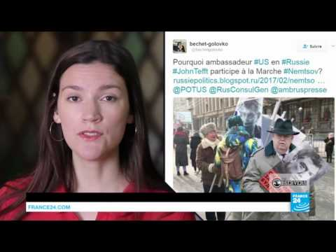 Fake news around the French presidential election
