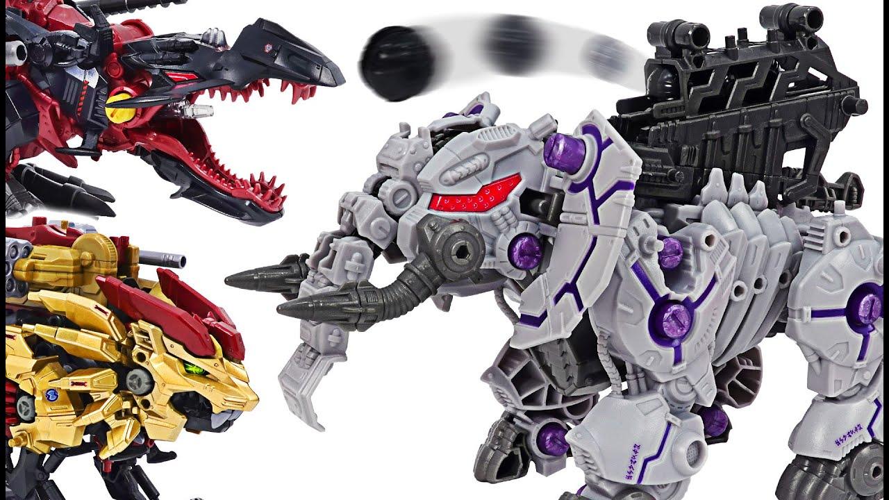 조이드 와일드 ZW43 제로 판토스 vs 기계 공룡! | 두두팝토이
