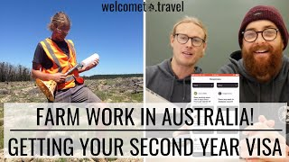 Farm Work In Australia | Getting That Second Year Visa