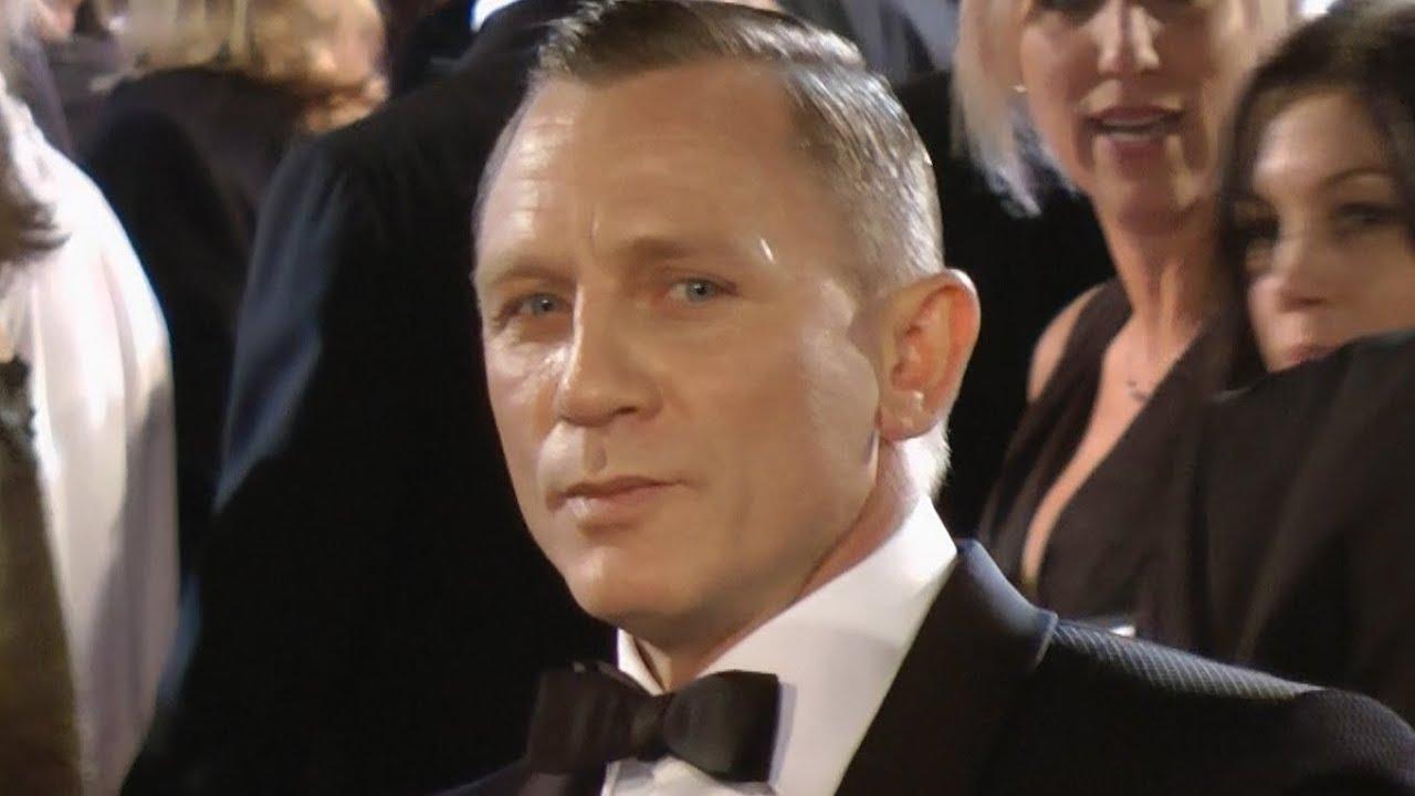 James Bond Premiere with Daniel Craig as 007 in SkyFall London