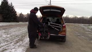 Multi-Lift PIR Scooter/Wheelchair Lift Loading Into 2018 Chevy Equinox