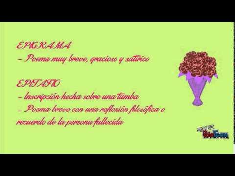 Tipos de poemas youtube for Tipos de toldos para balcones