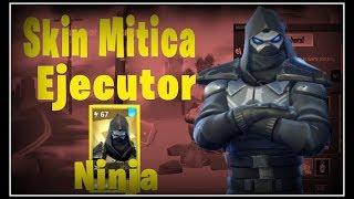 Fortnite Save the World ? Skin Mythical Ninja Executor ? Super Kunais attacks