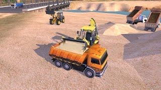 Dump Truck & Heavy Loader SIM (by TrimcoGames) Android Gameplay [HD]