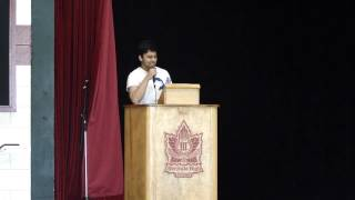 Merivale HS Co-Pres 2015 Speech 3 (Swagat Ghimire)