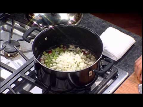 Vegan Garden Pasta Soup