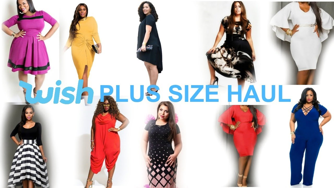 PLUS SUZE HAUL | WISH APP PLUS SIZE HAUL | DIRT CHEAP HAUL | ROXY TYRELL