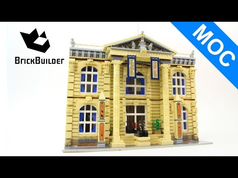 Lego MOC Egyptian museum - 4327 pieces!!! - Lego Speed Build