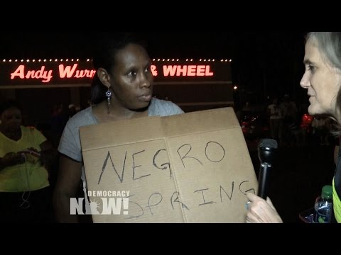 """""""Negro Spring"""": Ferguson Residents, Friends of Michael Brown Speak Out For Human Rights"""