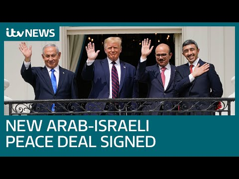UAE, Israel And Bahrain Sign Historic Peace Deal At White House | ITV News