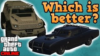 Duke O' Death VS Insurgent! - GTA online guides
