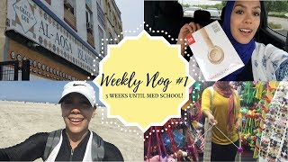 Weekly Vlog #1: 3 weeks until med school!