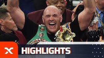 Weltmeister – Tyson Fury schickt Deontay Wilder im Rematch auf die Bretter | Highlights | SPOX