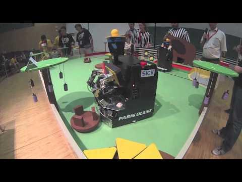 Coupe d'Europe / Eurobot 2014 - Demi-finale - RCVA vs DIMRobotics