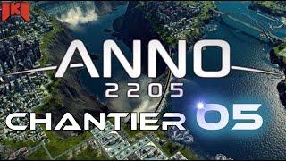 Anno 2205 Gameplay FR 05 - Plateforme pétrolière et début barrage