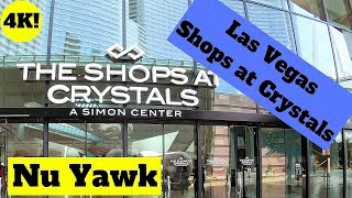 Las Vegas video tour of the Shops at Crystals 4K