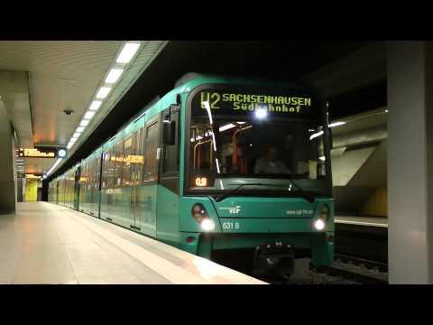 U-Bahn Frankfurt (Main) - A-Strecke unterirdisch XXL (2012) (HD)