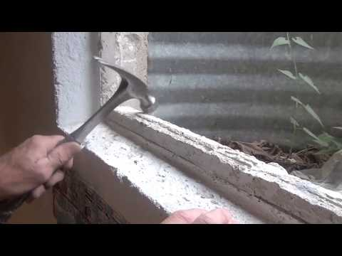 How to Replace a Basement Window in Concrete