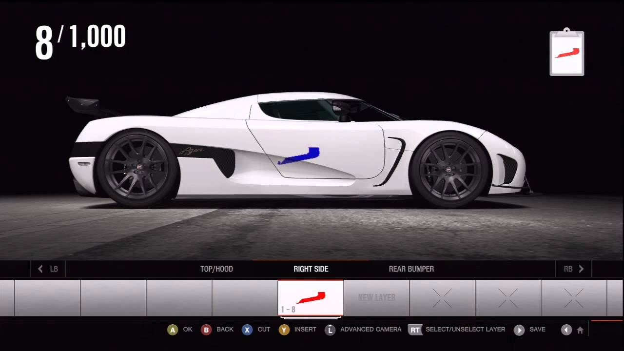 Forza motorsport 4 livery editor tips and tricks
