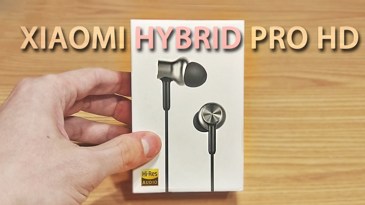 Xiaomi Hybrid Pro Hd обзор наушников I посылка с сайта Tomtop Youtube