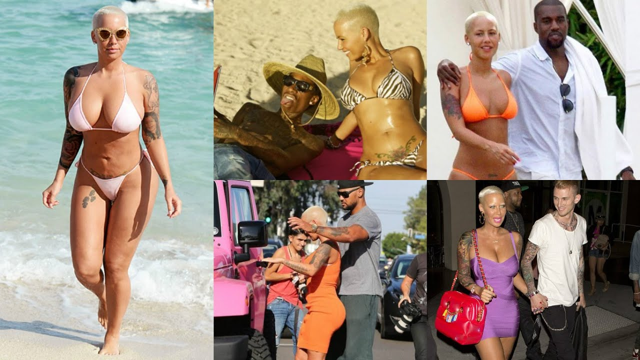 15 Men Who Have Slept With Amber Rose - YouTube
