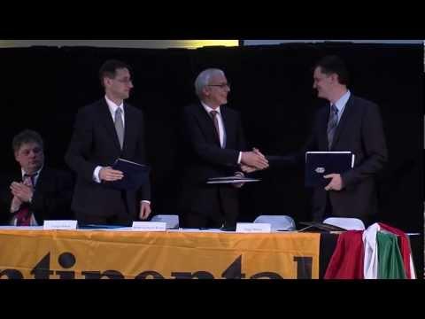 Stratégiai együttműködési megállapodást írt alá a kormány és a Continental AG