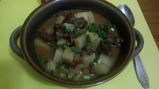 Куырдак!!! (Казахское блюдо с нотками азербайджанской кухни!!!!)