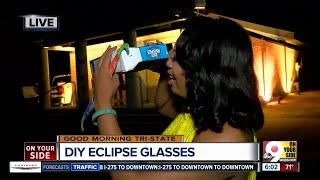 VIDEO: How to make a cereal box projector to view the solar eclipse