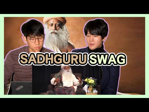 Foreigner insulted INDIA?! | Koreans React to the [Sadhguru shuts up a lady when she insults INDIA]