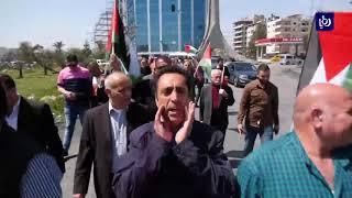 القوى والفصائل الوطنية والإسلامية تنظم تظاهرة ضد انتهاكات الاحتلال في غزة