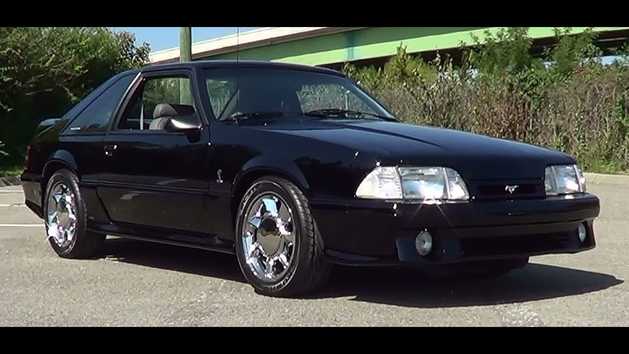 1993 Cobra Mustang - YouTube