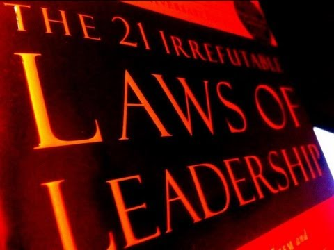 #4  The Law of Navigation  (21 Laws of Leadership) Training by Tim Herr
