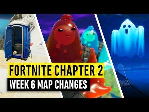 Fortnite | All Chapter 2 Map Updates And Hidden Secrets! WEEK 6