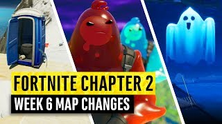 Fortnite | All Chapter 2 Map Updates and Hidden Secrets! WEEK 6