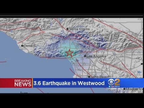 3.6 Quake Shakes West Los Angeles