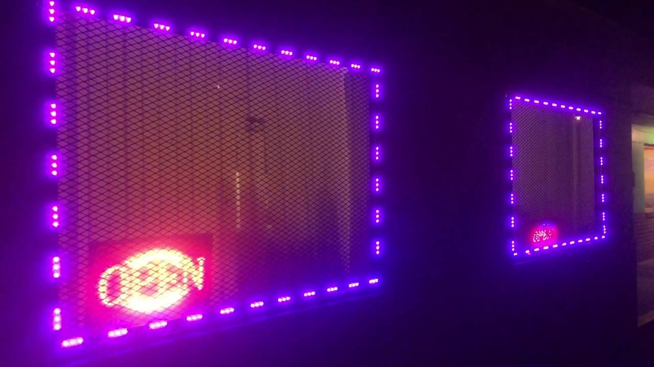 How Led Window Lights Look When Properly Installed Rgb Multicolor