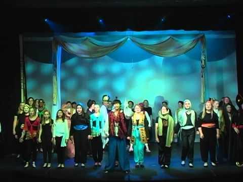 MS Musical 2014  Aladdin, Jr