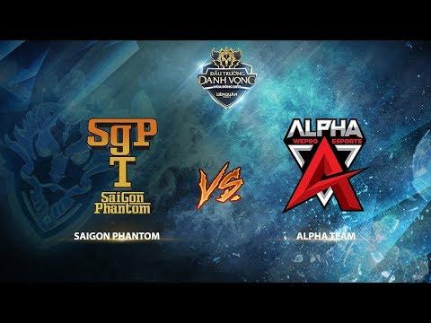Saigon Phantom vs Alpha Team [Vòng 3 - Ván 1] [23.09.2017]