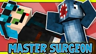SAVING THEDIAMONDMINECART?! - Master Surgeon! - Custom Minecraft Map W/AshDubh