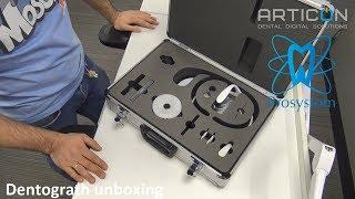 Prosystom Dentograf: распаковка и обзор комплектации оптического аксиографа